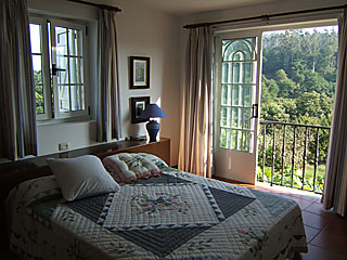 Main bedroom with amazing views